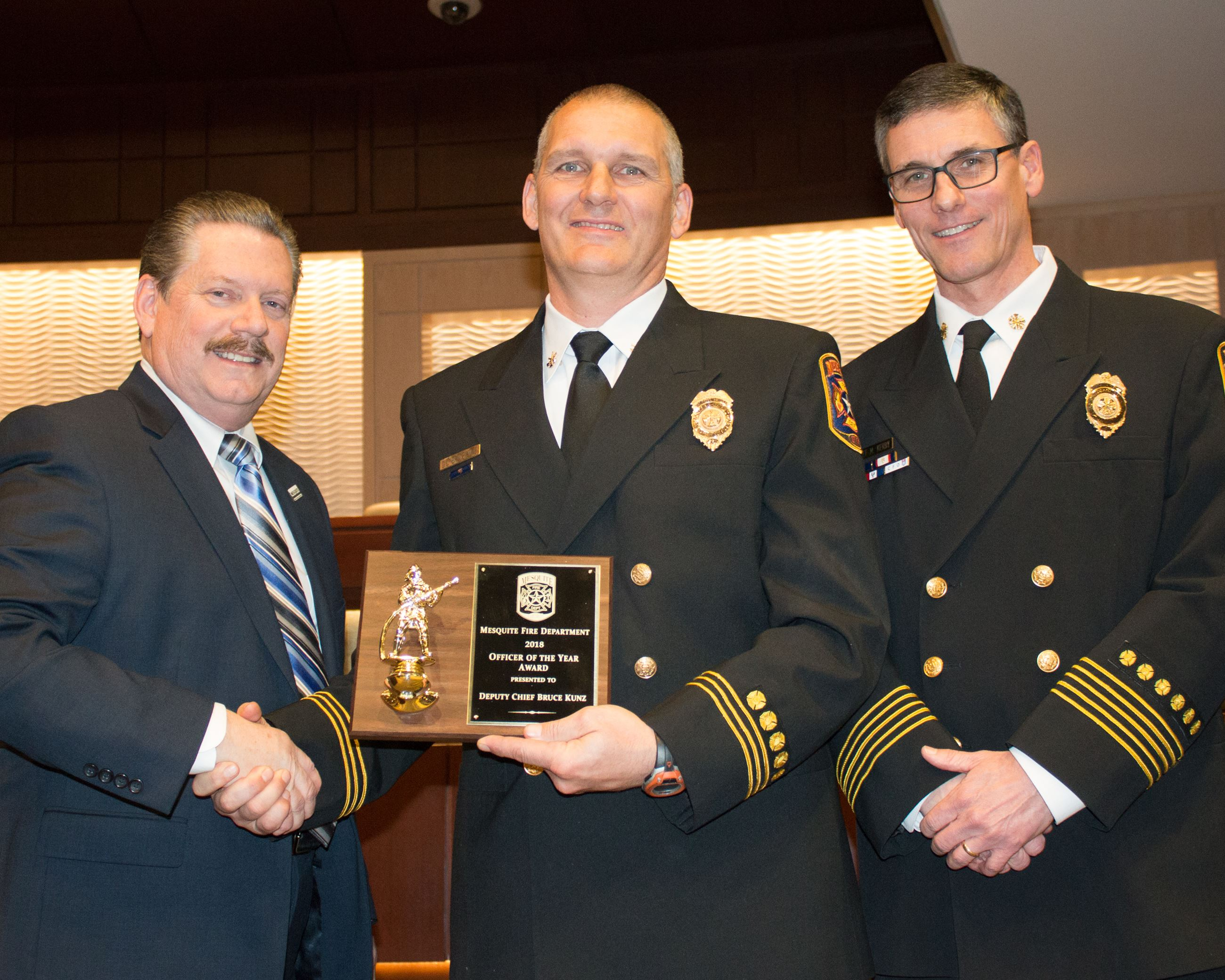 2018 Fire Officer of the Year - Chief Bruce Kunz