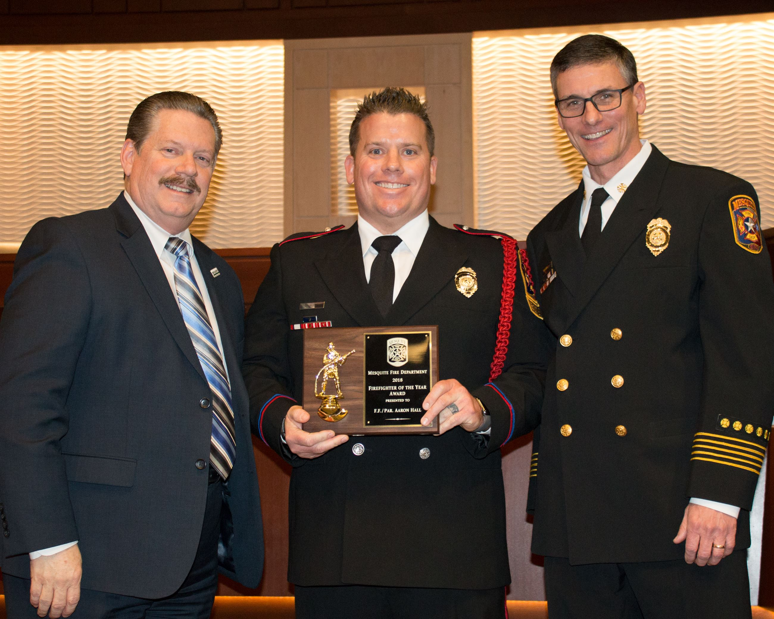 2018 Firefighter of the Year - Aaron Hall
