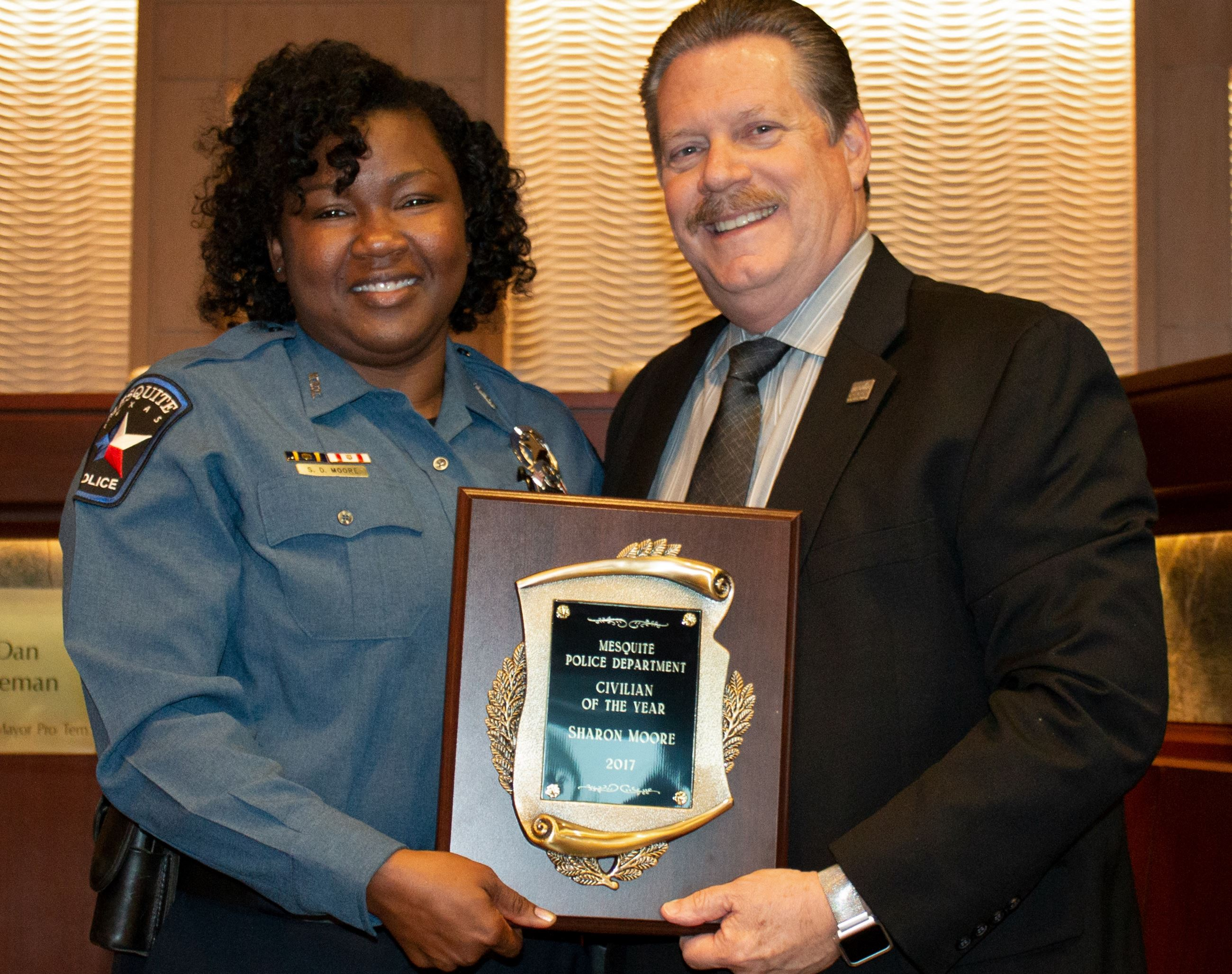 4-16-18 PD Awards - Civilian of the Year - Sharon Moore (2938x2322)