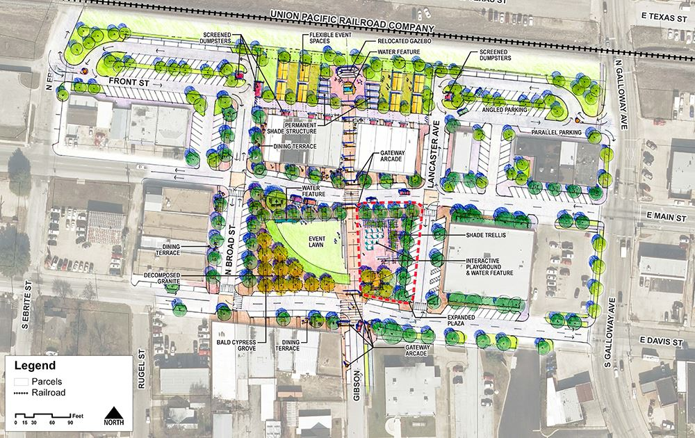 7-16-18 Mesquite Downtown Conceptual Plan