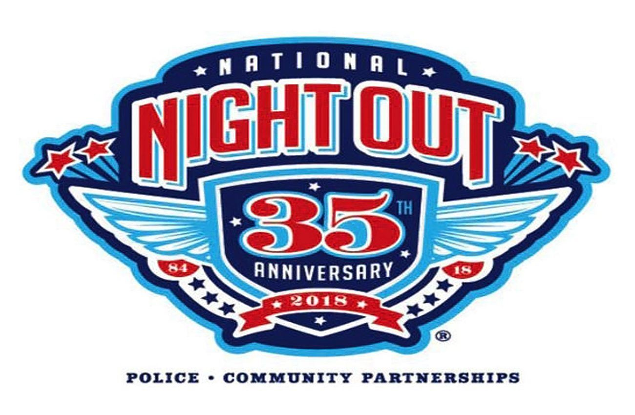 National Night Out logo 2018