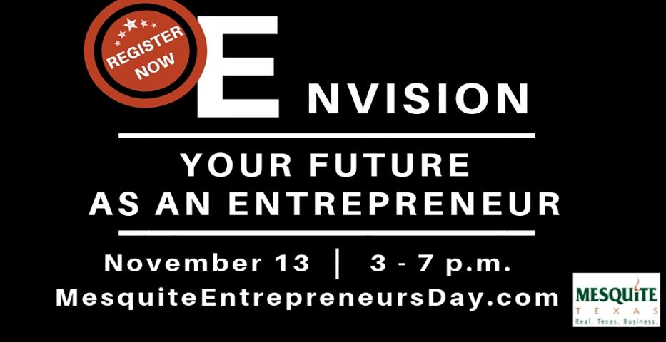 Entrepreneur Day workshop invitation
