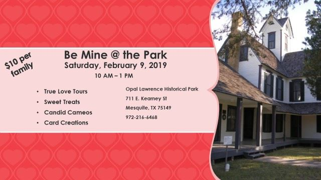 Be Mine at the Park 2019