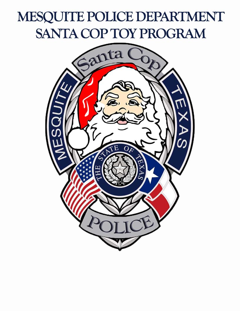 Santa Cop Logo - Words