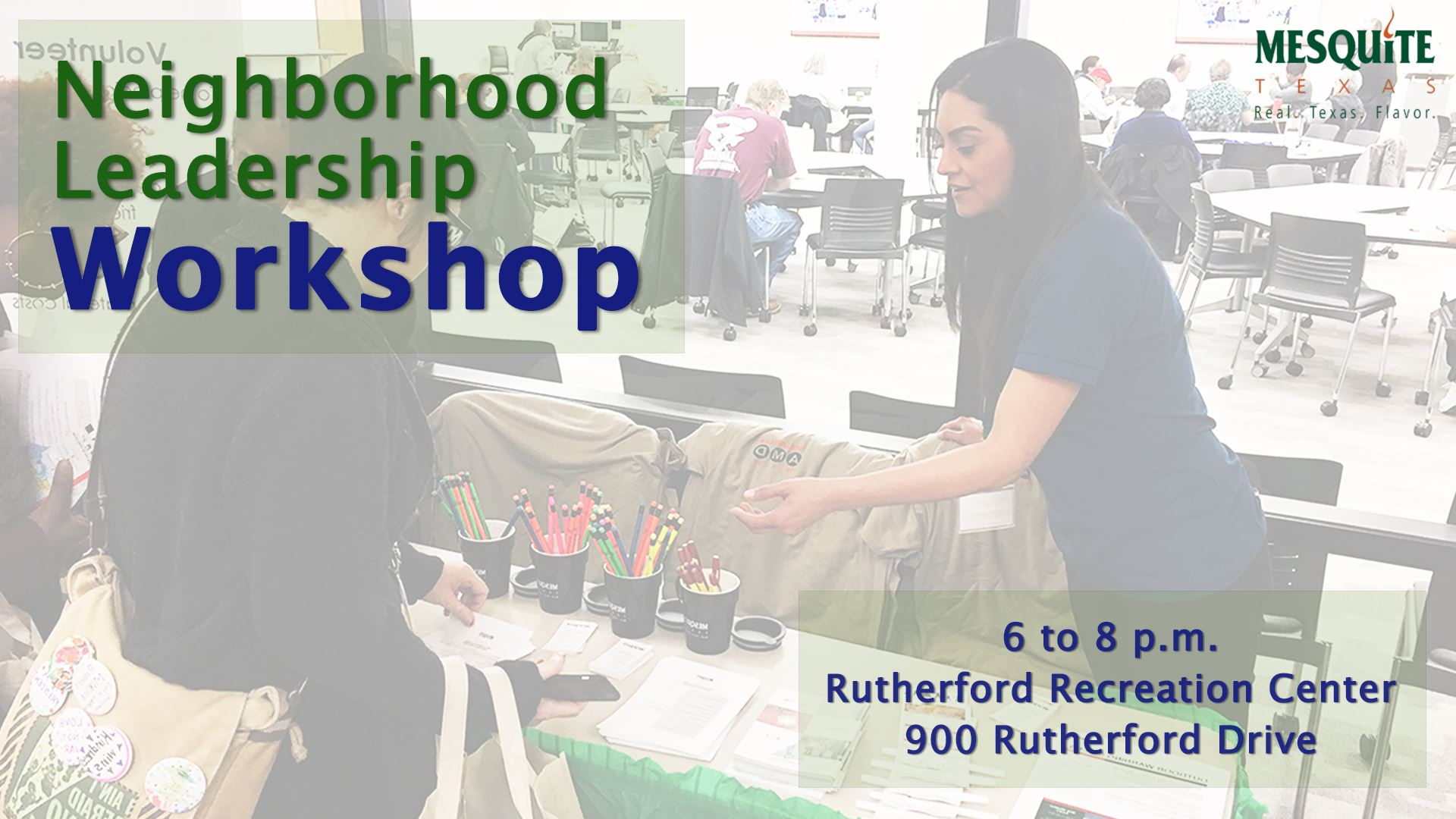 Neighborhood Leadership Workshop