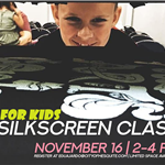 2019.11.16 Just For Kids Silkscreening Webslide