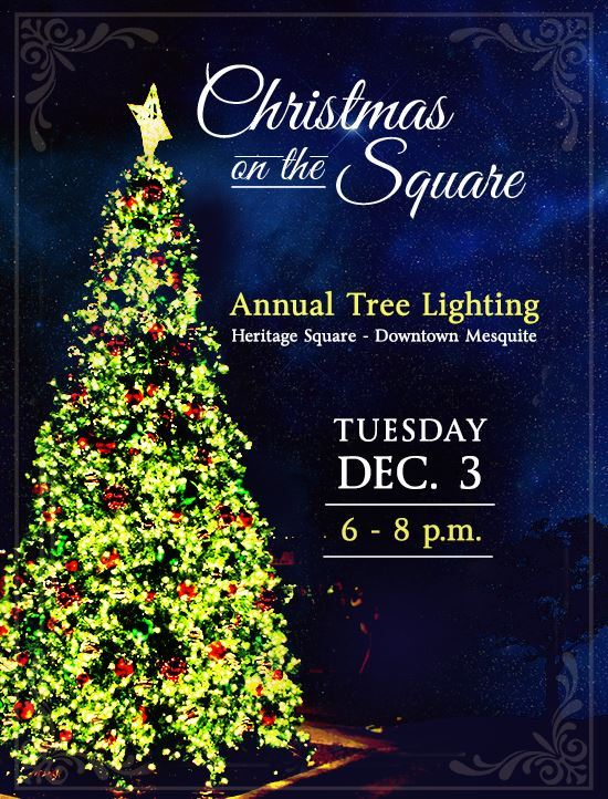 Christmas on the Square flyer