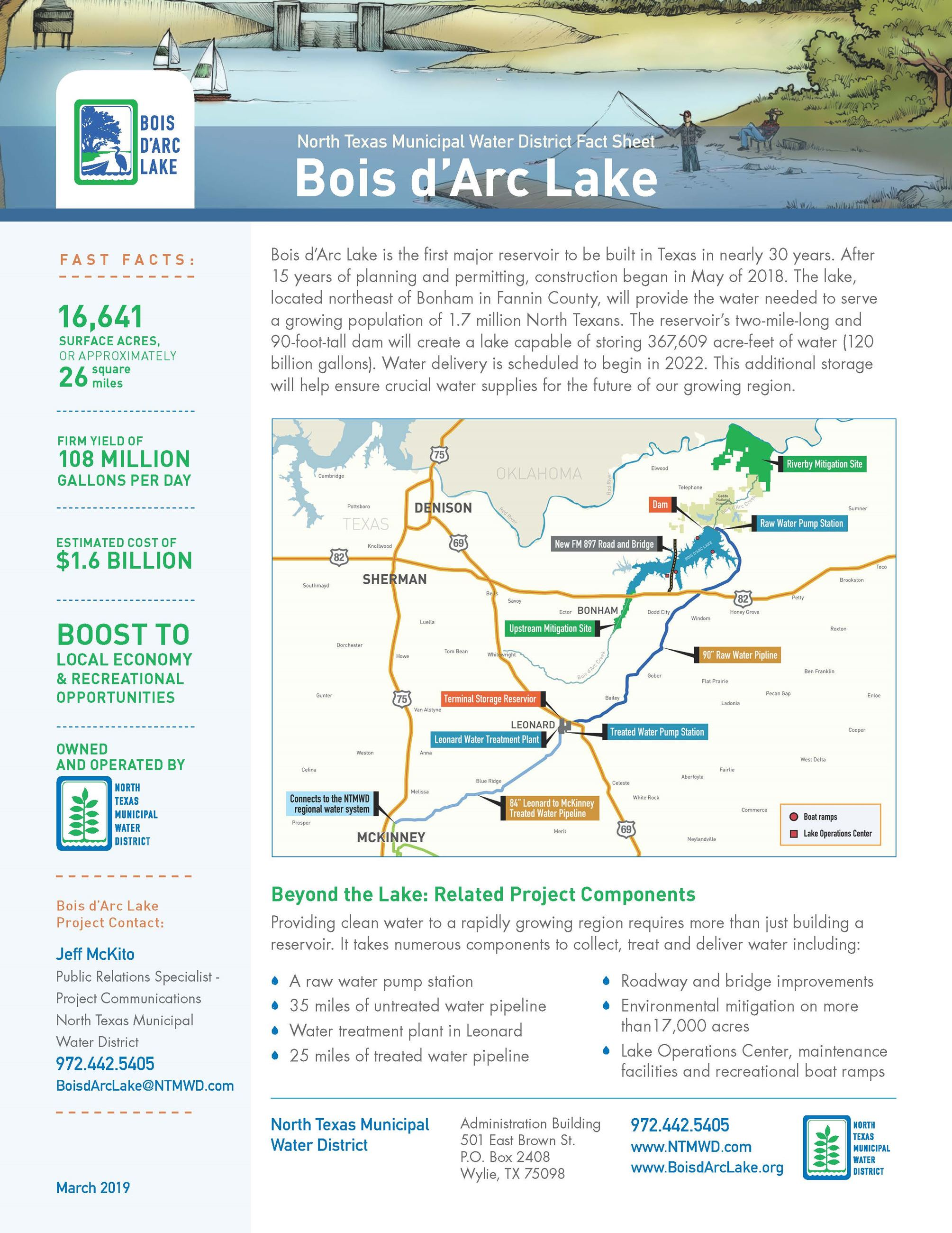 Bois d'Arc Lake Project 1