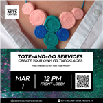 2020.03.01 Create Your Own Felt Necklace Instagram