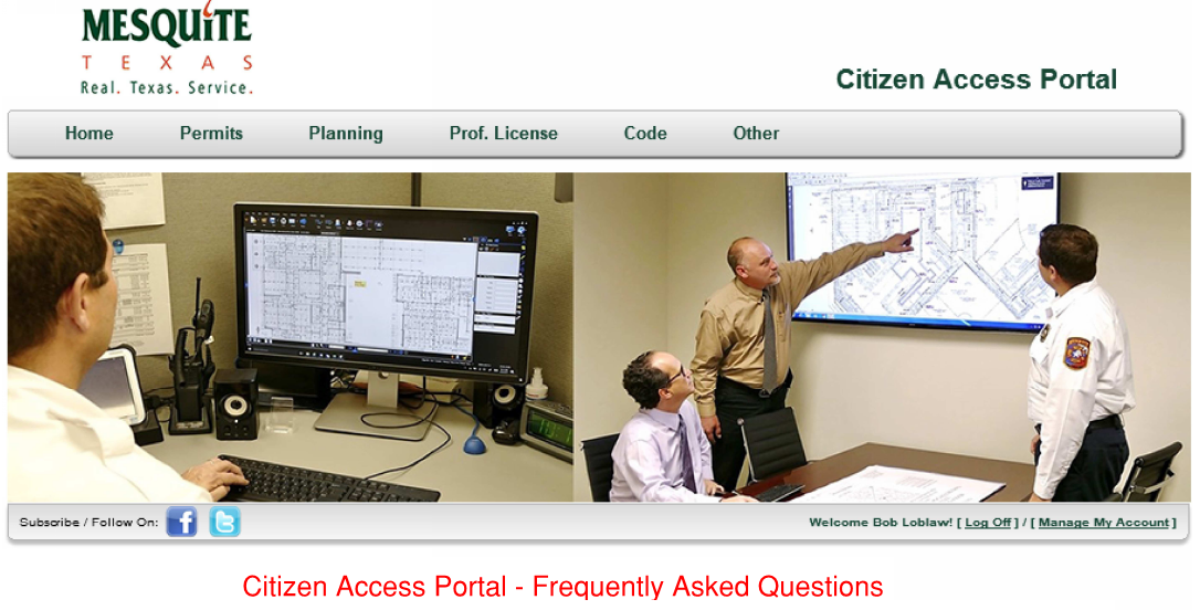 Citizen Access Portal - Fire FAQs