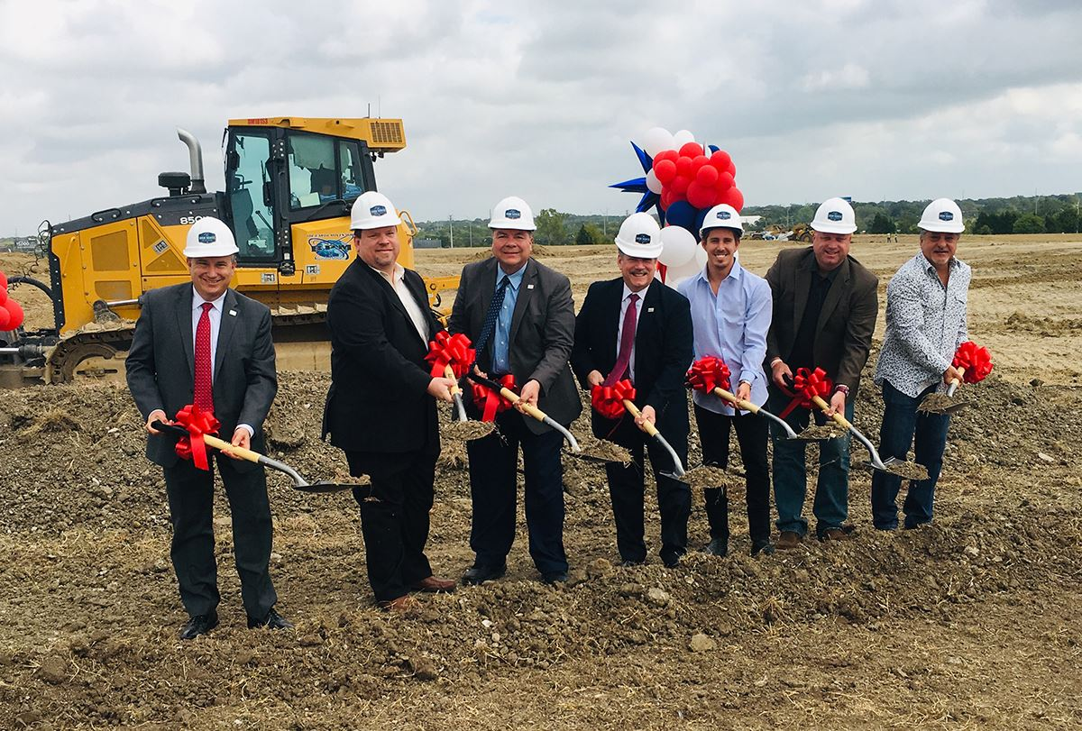 9-30-19 Iron Horse Village groundbreaking - Mesquite TX