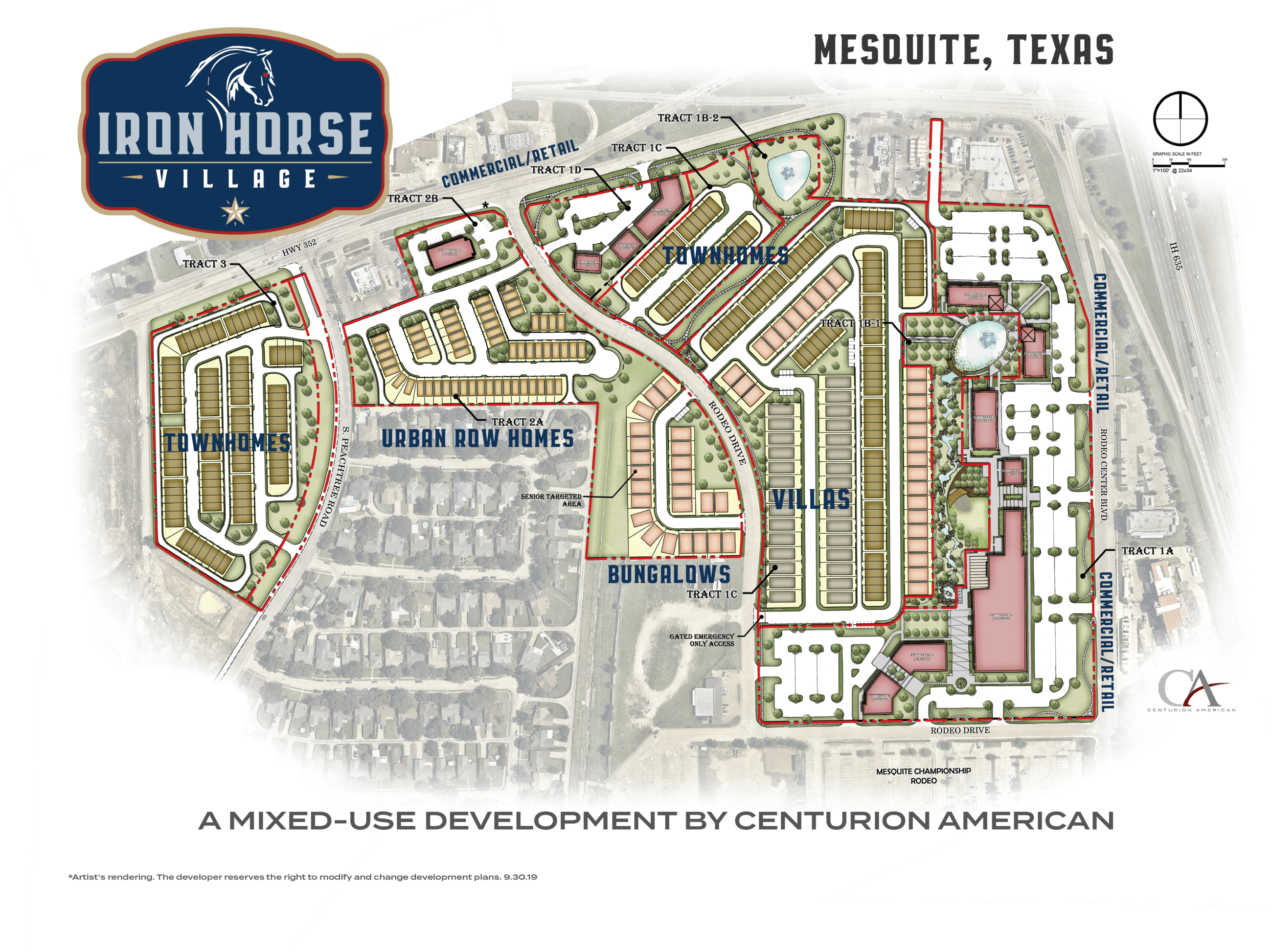 Iron Horse Village Site Plan