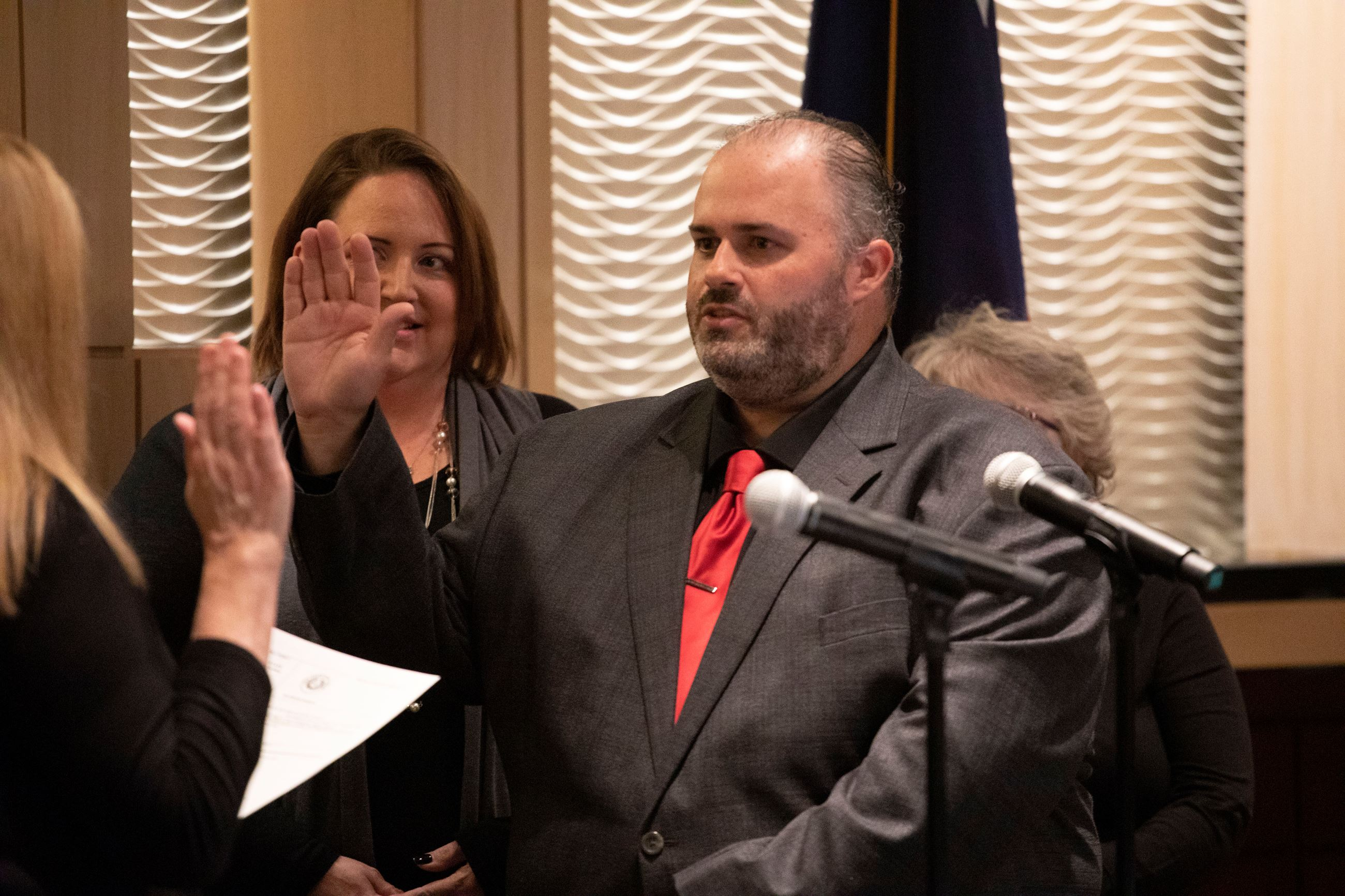 Green takes Oath of Office