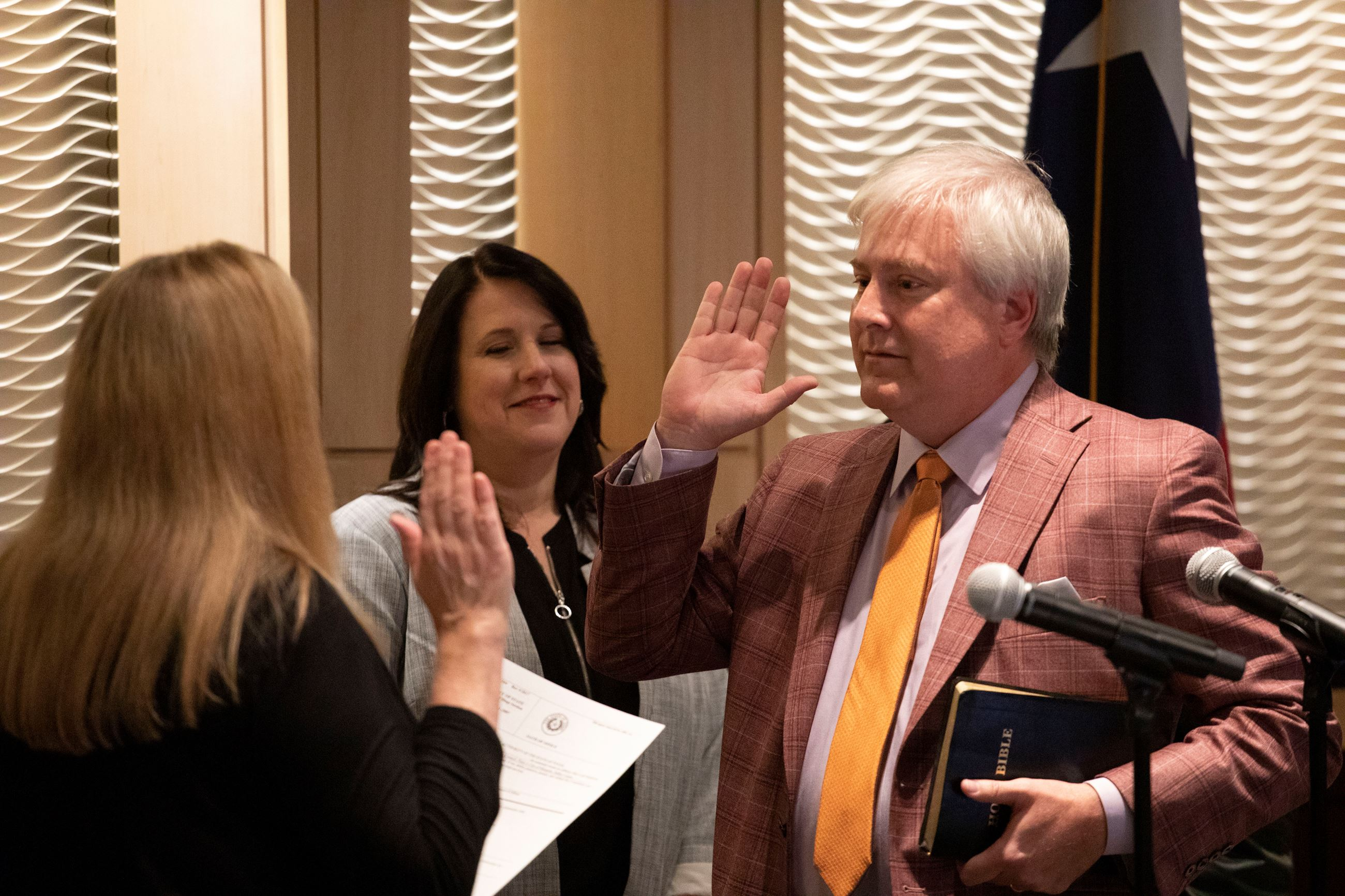 Miklos takes Oath of Office