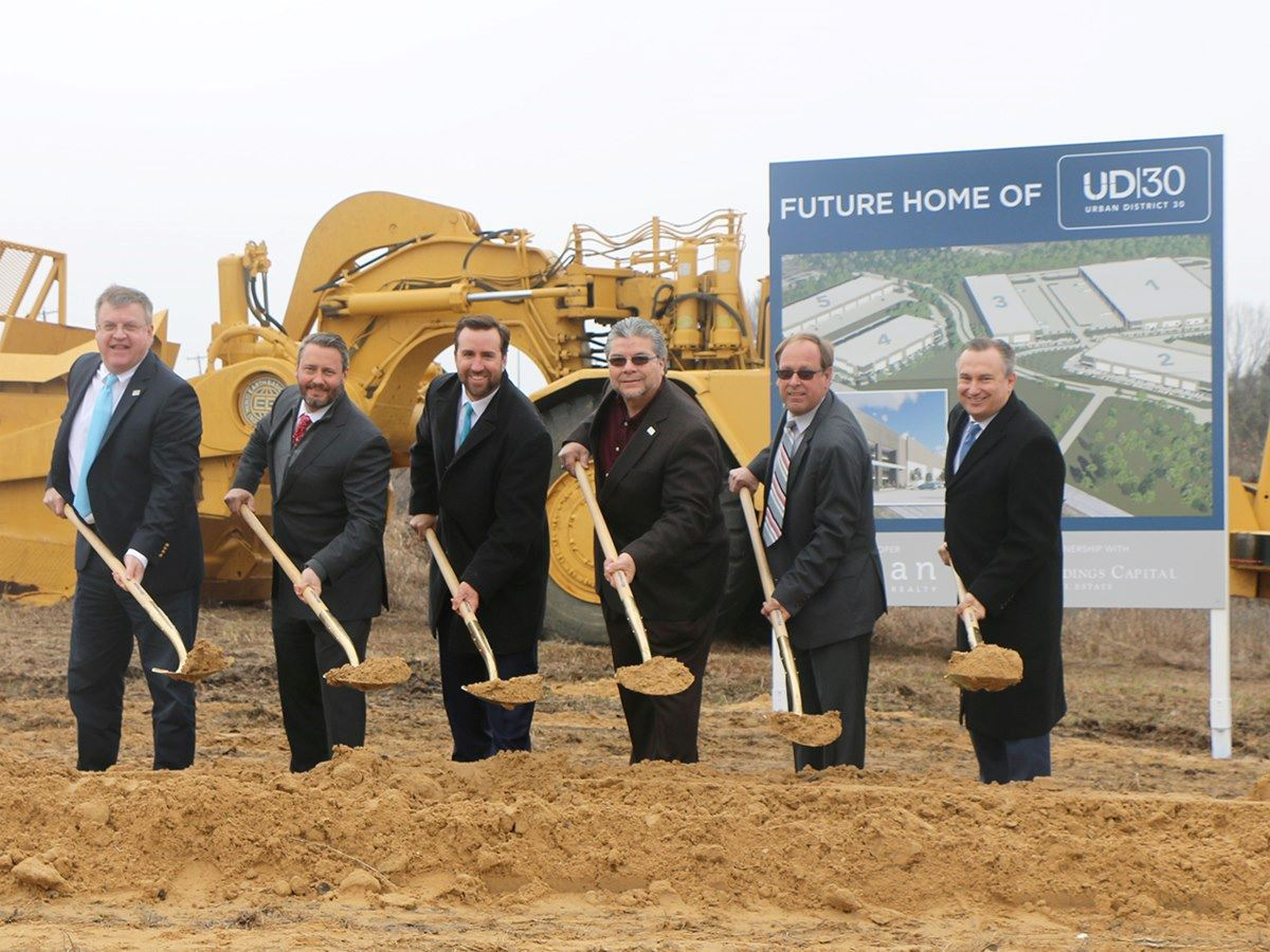 Urban District 30 Groundbreaking