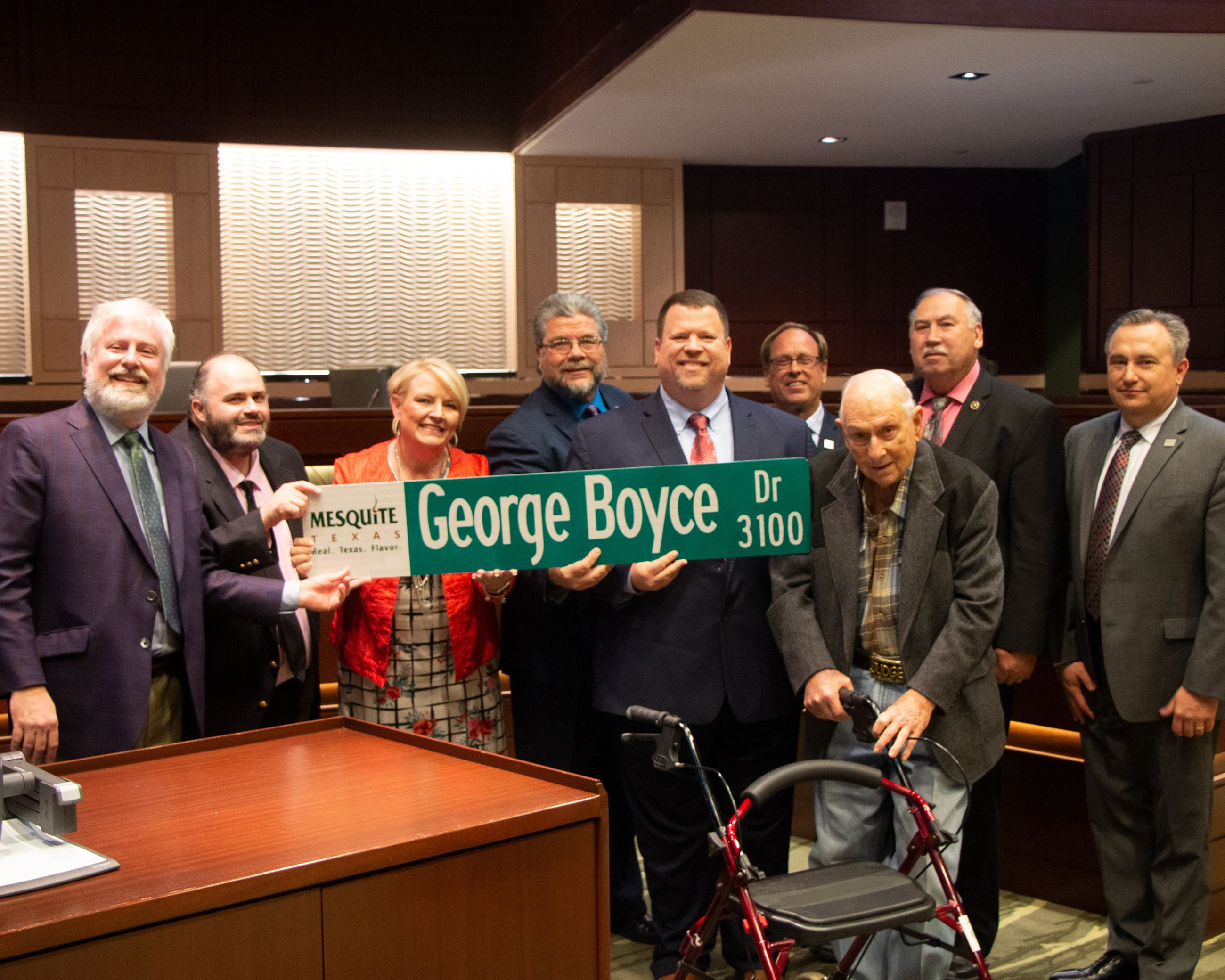 2-17-20 Council Photos - George Boyce Presentation