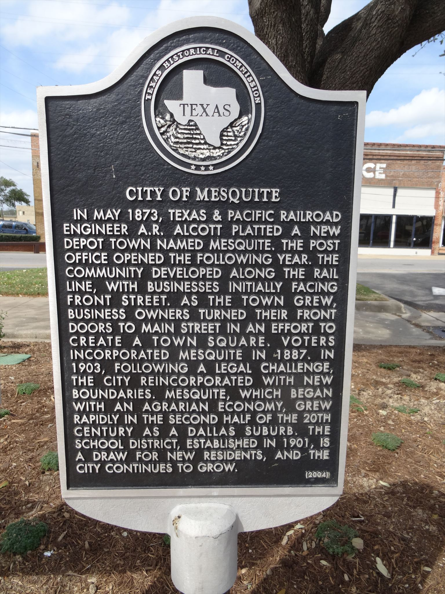 Downtown Historical Marker