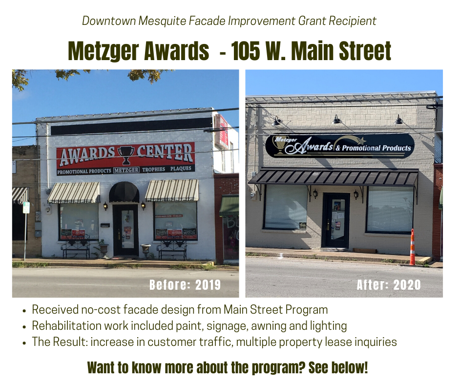 Metzger Awards - 105 W. Main Street