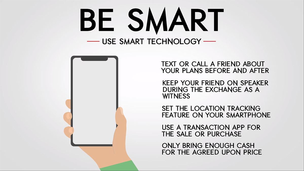 Mesquite Police Dept - Internet Thefts - Be Smart - Use Technology