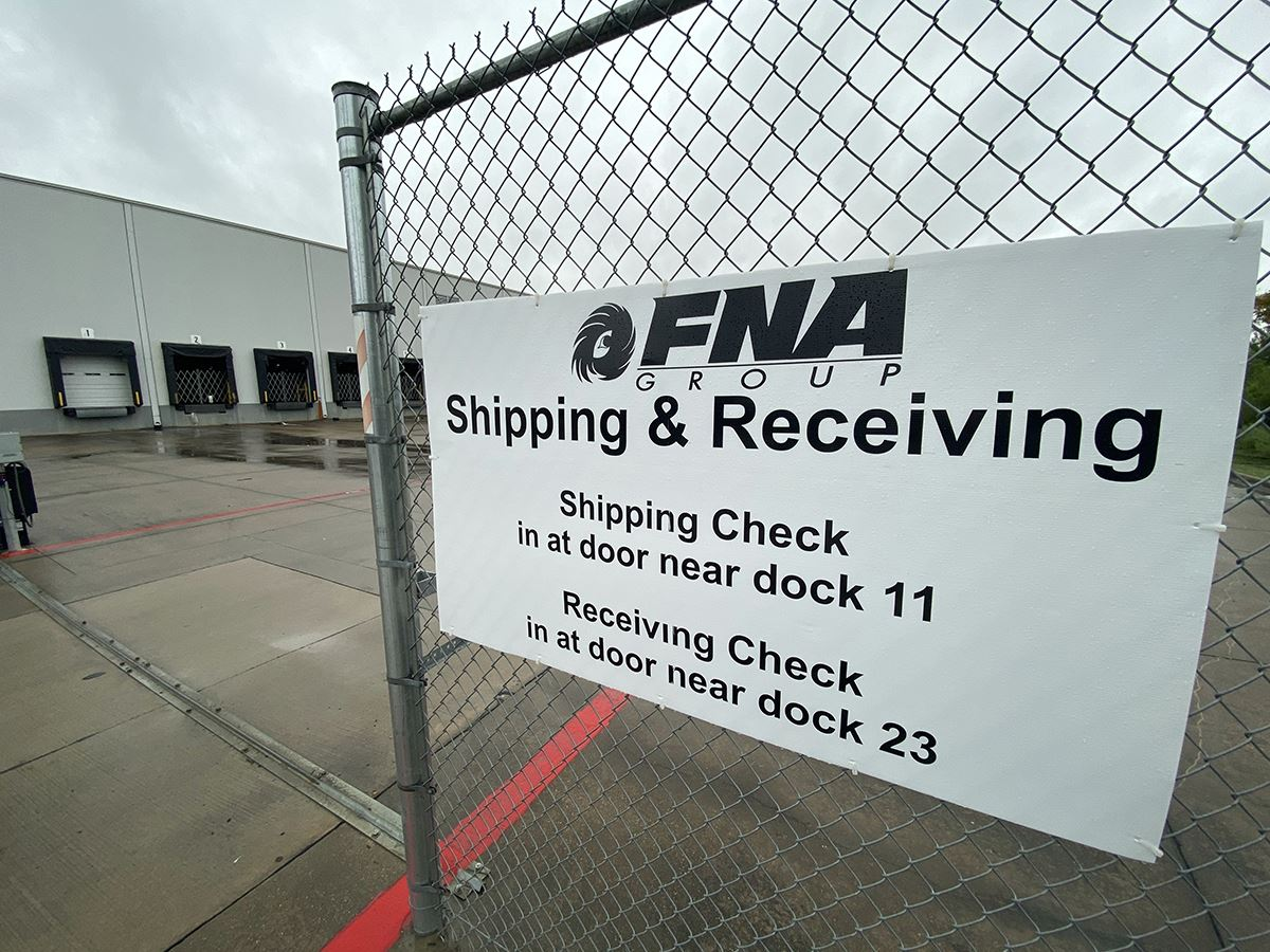 FNA Group - Mesquite TX - loading docks