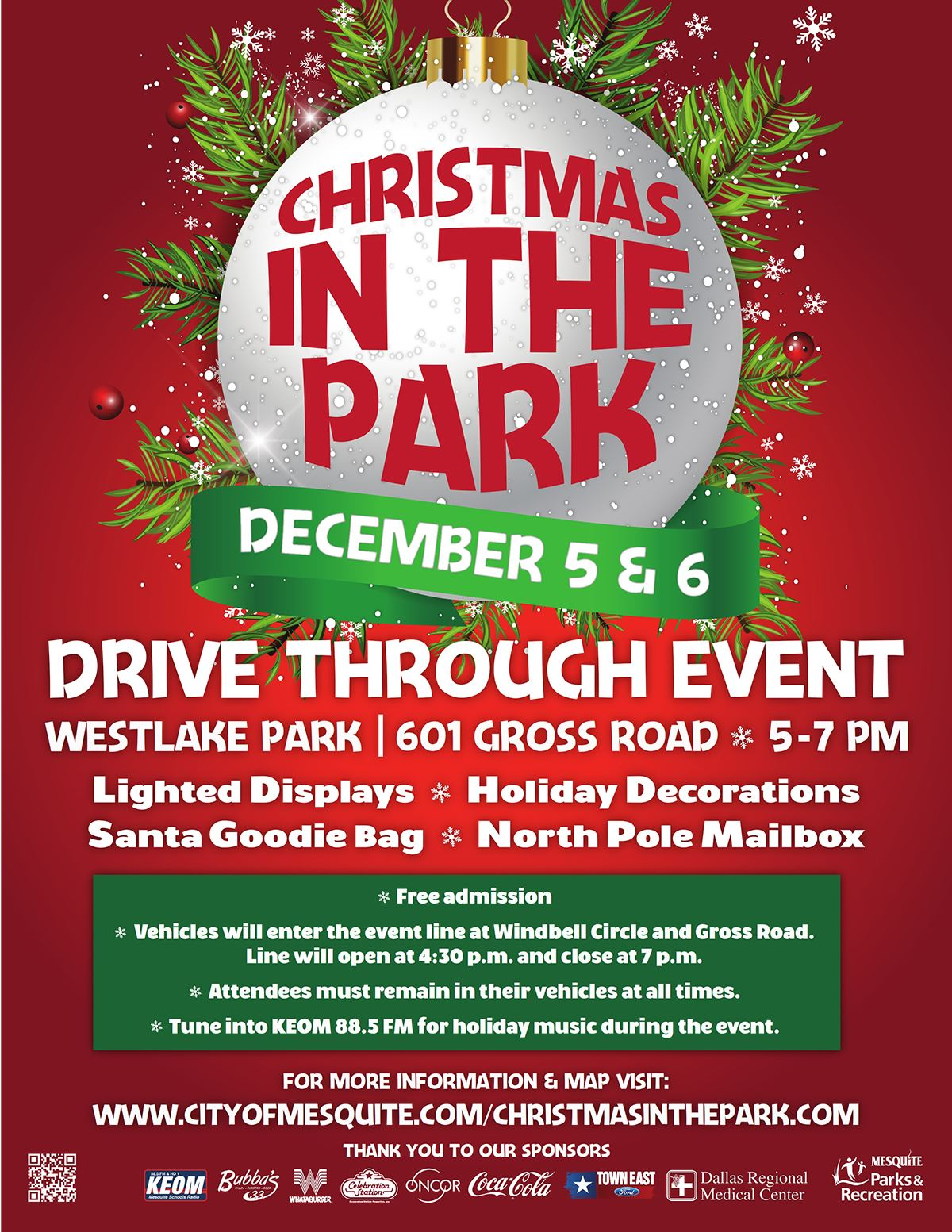 2020 Christmas in the Park - Mesquite TX