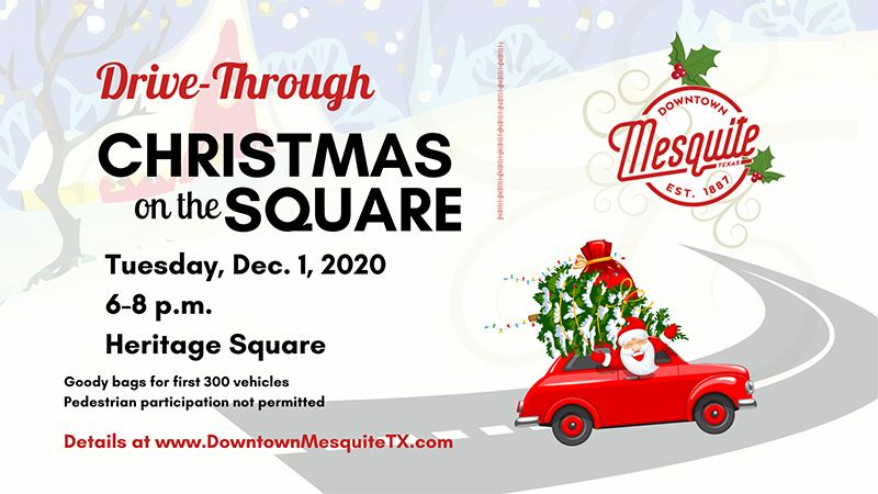2020 Christmas on the Square - Mesquite TX