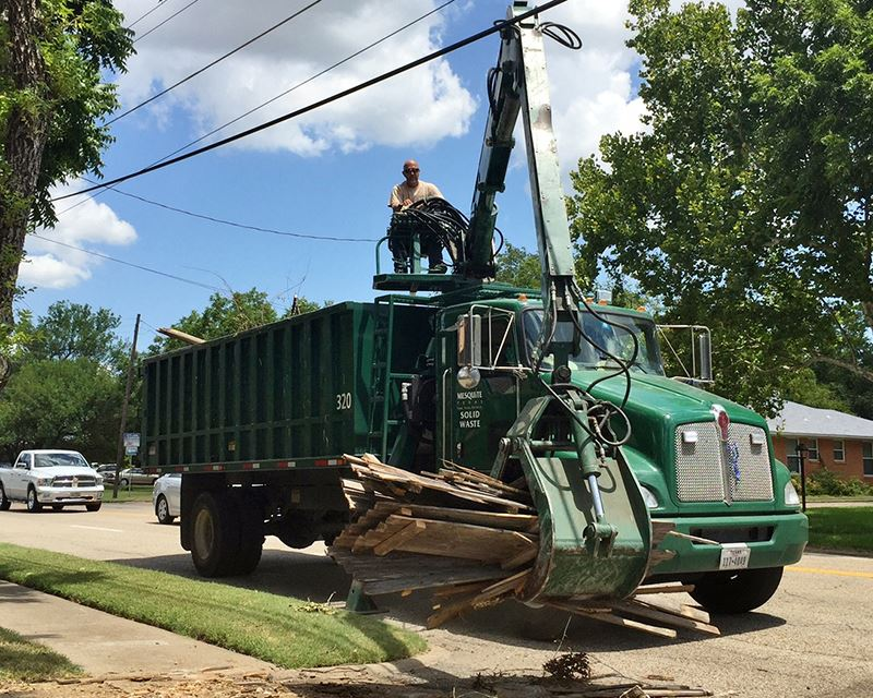 City of Mesquite Solid Waste Services - bulk item collection - Mesquite TX
