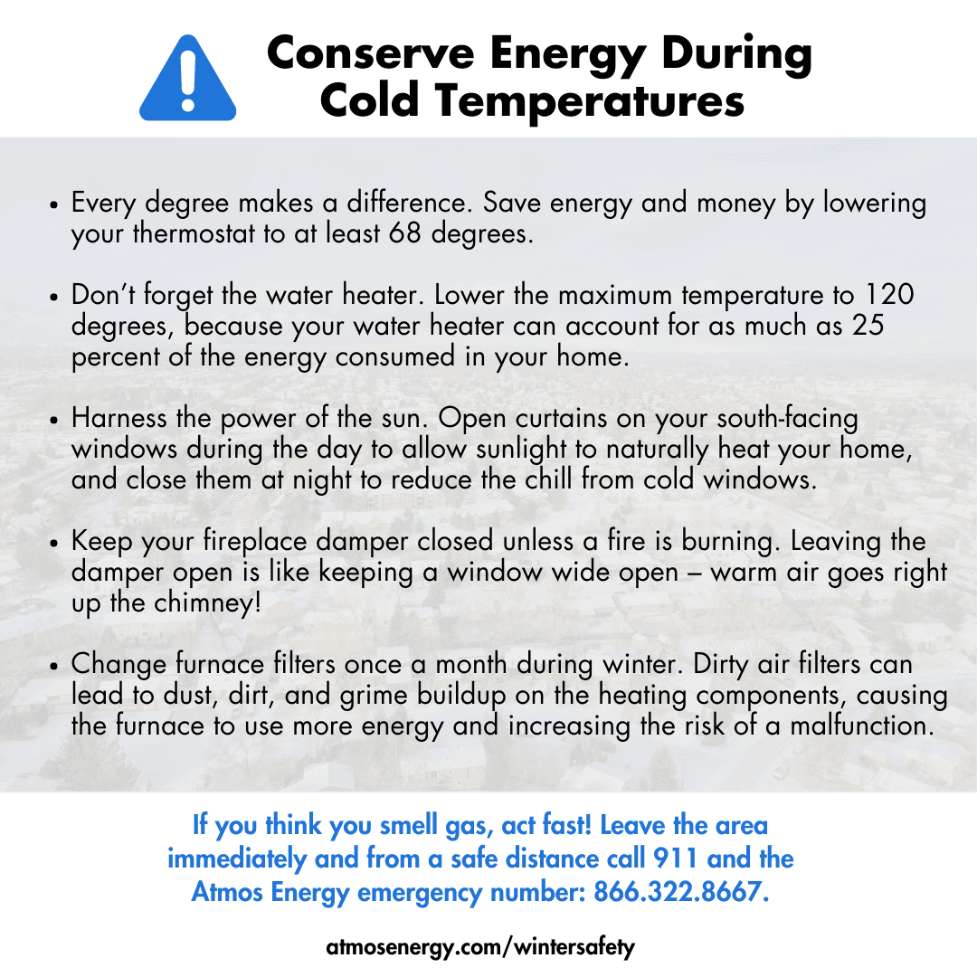 Conserve Energy Graphic