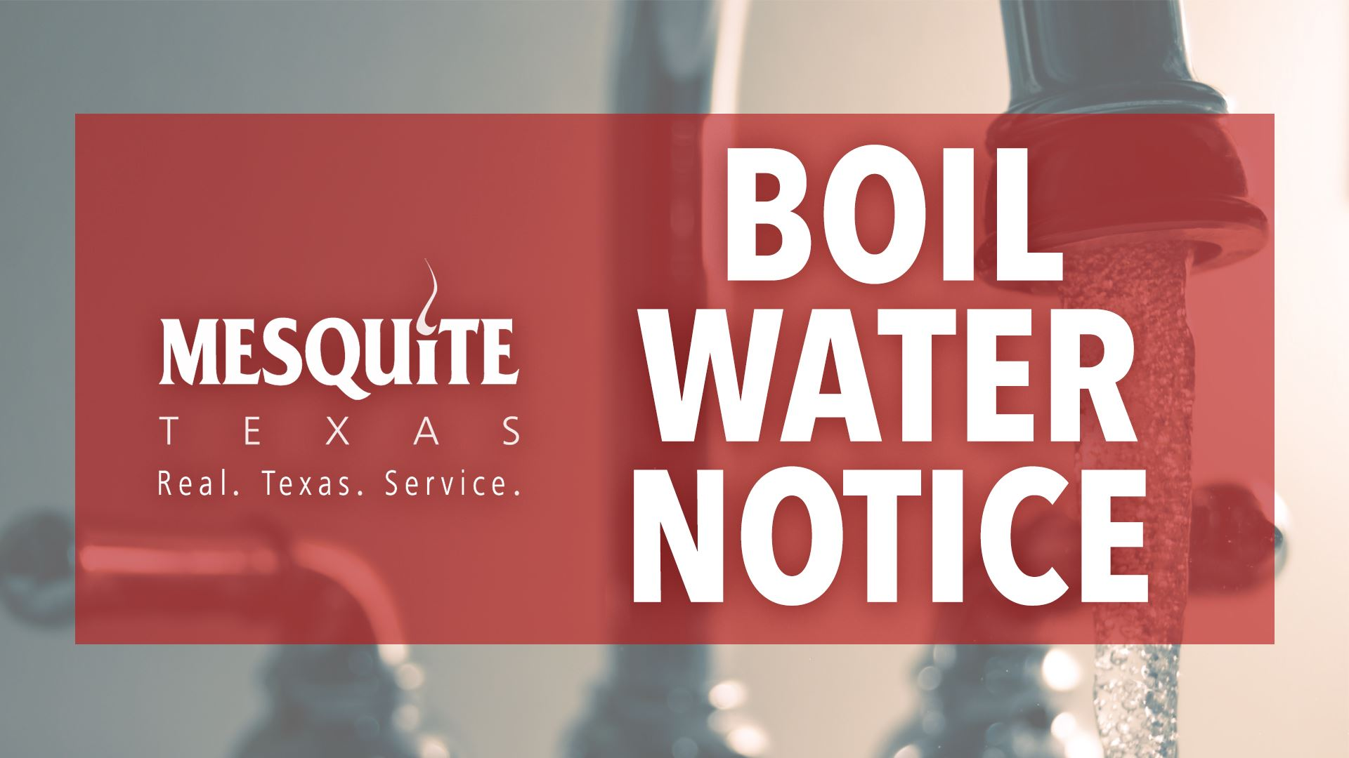 Mesquite Boil Water Notice