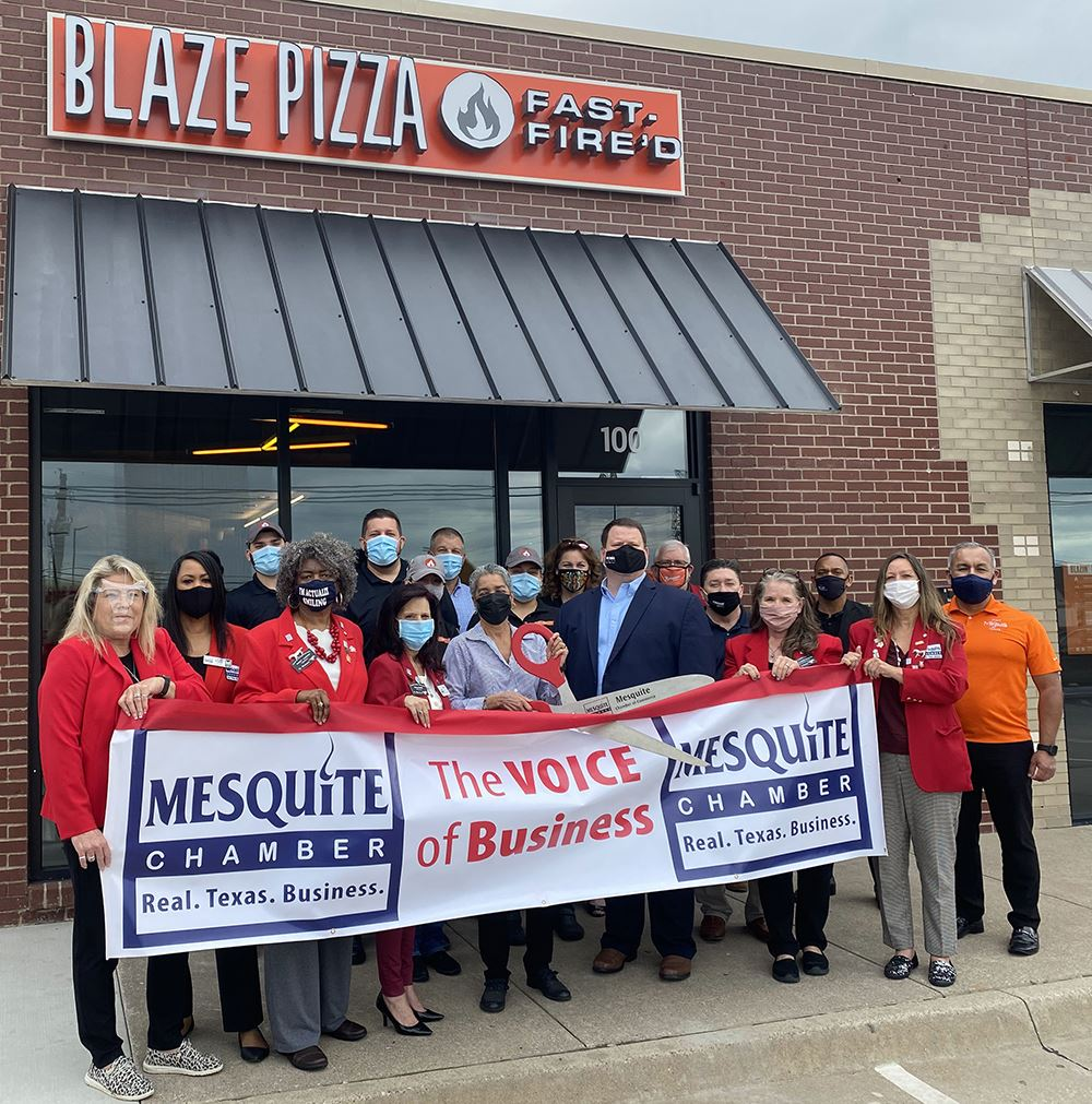 5-4-21 ribbon cutting blaze