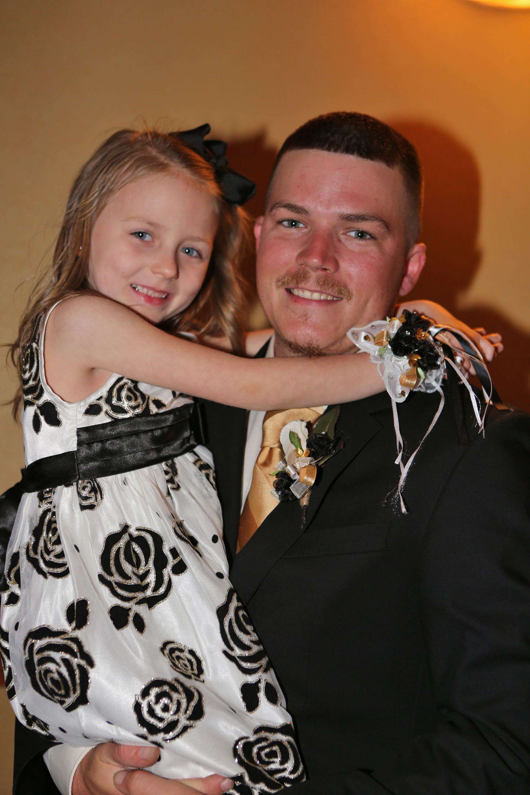 Dad and daughter at 2017 dance